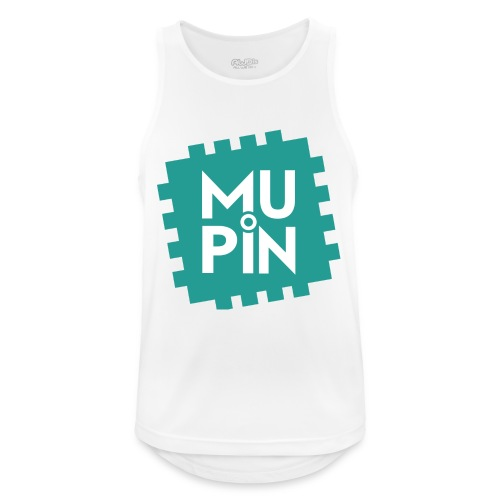 Logo Mupin quadrato - Canotta da uomo traspirante