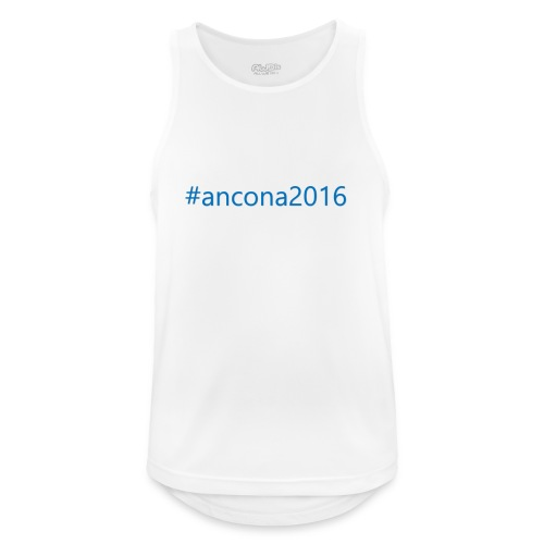 #ancona2016 - Camiseta sin mangas hombre transpirable