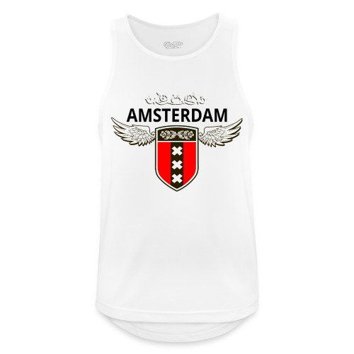 Amsterdam Netherlands - Männer Tank Top atmungsaktiv