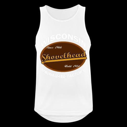 Milwaukee Shovelhead - Männer Tank Top atmungsaktiv