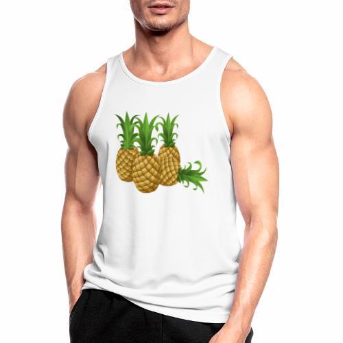 Ananas - Männer Tank Top atmungsaktiv