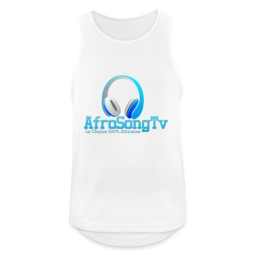 logo - Camiseta sin mangas hombre transpirable