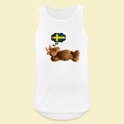 Traum von Schweden - Männer Tank Top atmungsaktiv