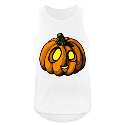 Pumpkin Halloween scribblesirii - Men's Breathable Tank Top