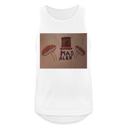 Mad Alex Logo - Men's Breathable Tank Top