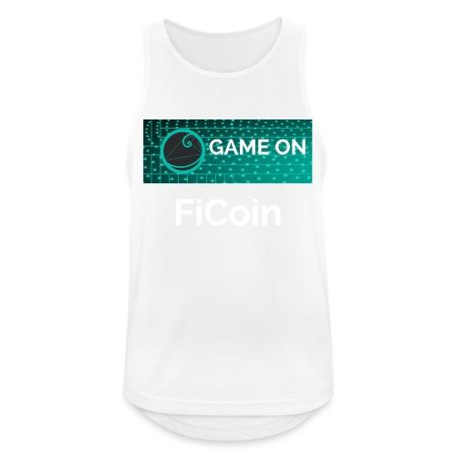 GameOn Light Tekst - Mannen tanktop ademend actief