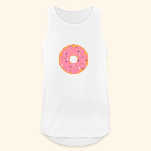 Donut-Shirt - Männer Tank Top atmungsaktiv