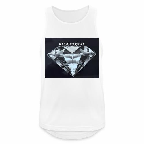 Diamond - Andningsaktiv tanktopp herr