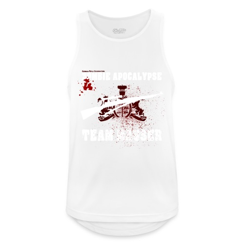 Zombie Apocalypse Team Mauser - Männer Tank Top atmungsaktiv