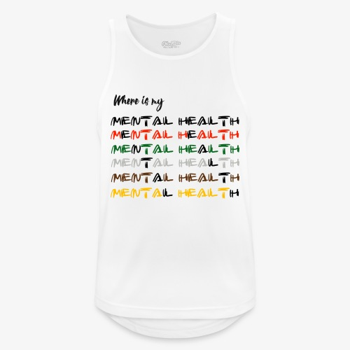 Where is my...? - Men's Breathable Tank Top