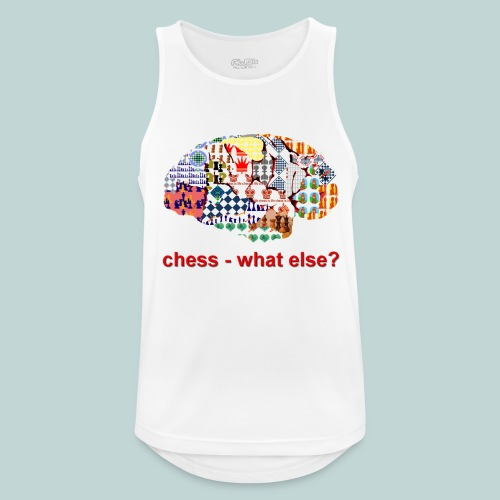 chess_what_else - Männer Tank Top atmungsaktiv