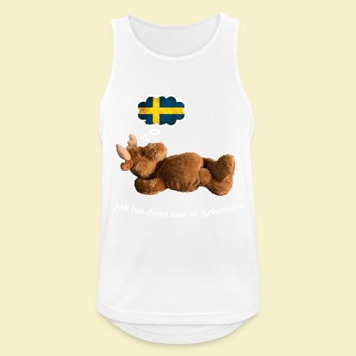 Bin dann mal in Schweden - Männer Tank Top atmungsaktiv