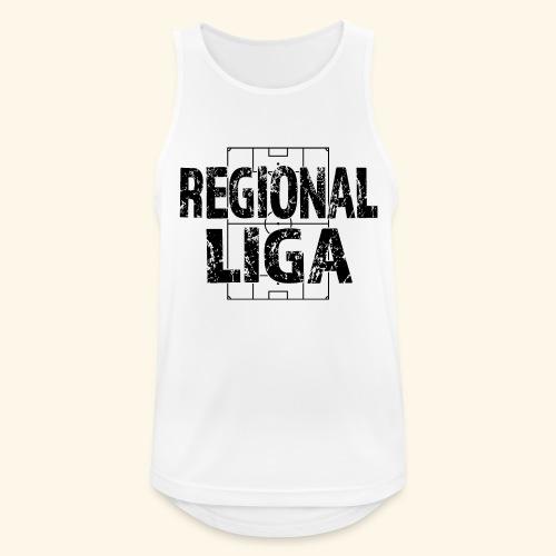 REGIONALLIGA im Fußballfeld - Männer Tank Top atmungsaktiv