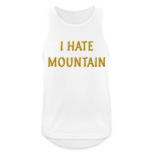 hate mountain - Männer Tank Top atmungsaktiv