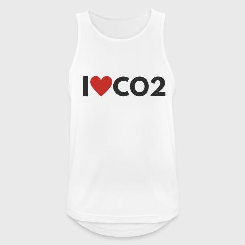 I LOVE CO2 - Miesten tekninen tankkitoppi