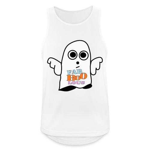 Halloween Geist BOO - Männer Tank Top atmungsaktiv