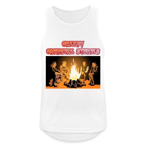 Campfire Shirt Front png - Männer Tank Top atmungsaktiv