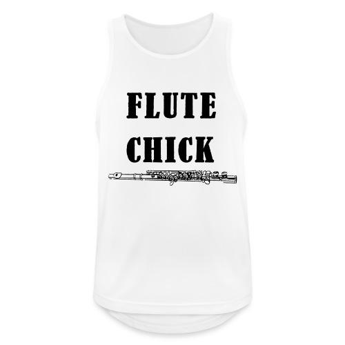 Flute Chick - Pustende singlet for menn