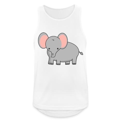 Elefant - Männer Tank Top atmungsaktiv