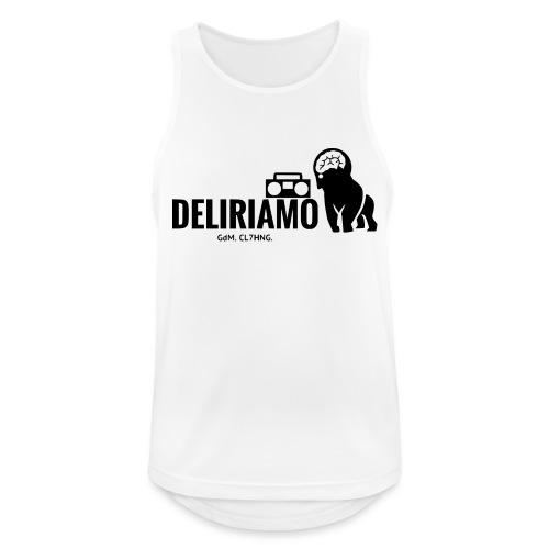DELIRIAMO CLOTHING (GdM01) - Canotta da uomo traspirante