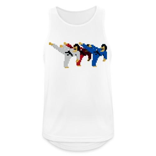 8 bit trip ninjas 2 - Men's Breathable Tank Top