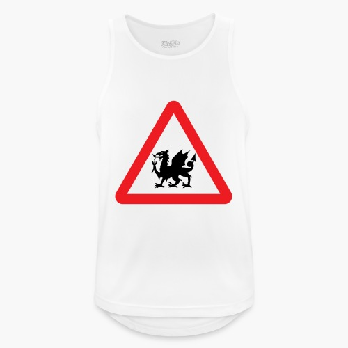 Welsh Dragon - Men's Breathable Tank Top