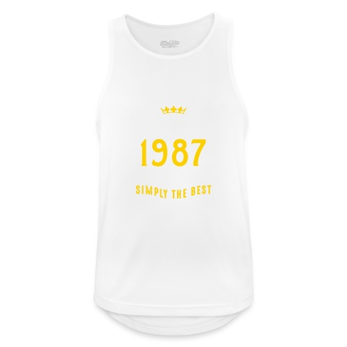 original since 1987 simply the best 30th birthday - Men's Breathable Tank Top