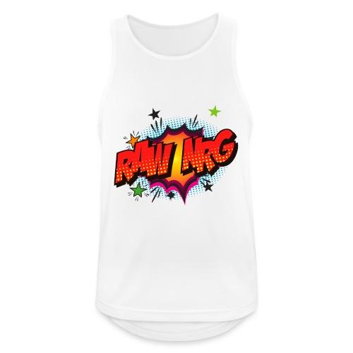 Raw Nrg comic3 - Men's Breathable Tank Top