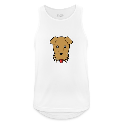 Shari the Airedale Terrier - Men's Breathable Tank Top