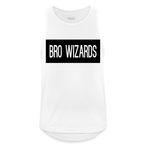Browizardshoodie - Men's Breathable Tank Top