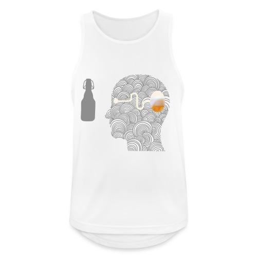 WYSIWYG Beer Shirt - Männer Tank Top atmungsaktiv