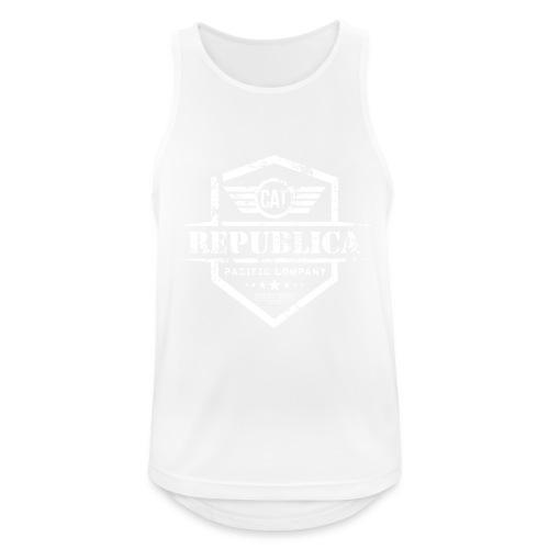 REPUBLICA CATALANA - Camiseta sin mangas hombre transpirable