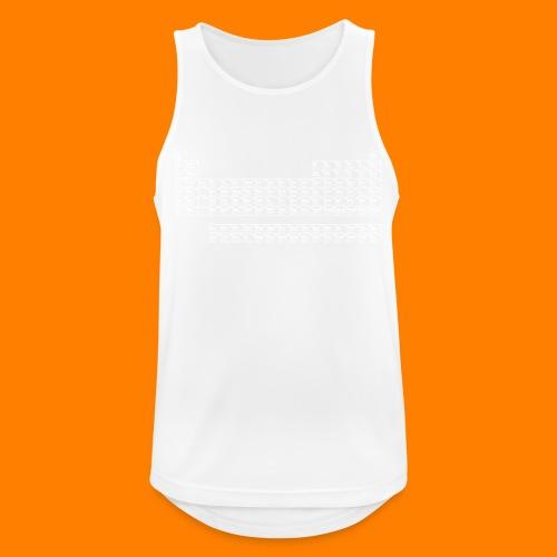 periodic white - Men's Breathable Tank Top