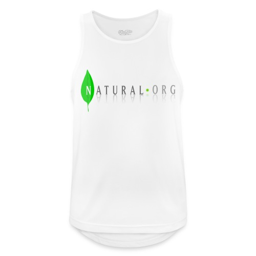 natural frees - Camiseta sin mangas hombre transpirable