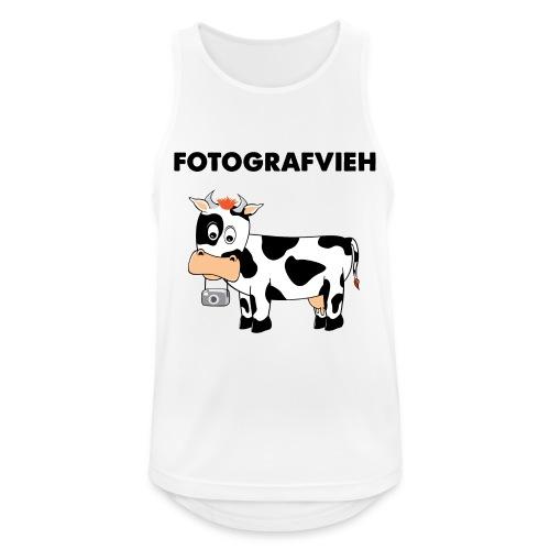 Fotografvieh - Männer Tank Top atmungsaktiv