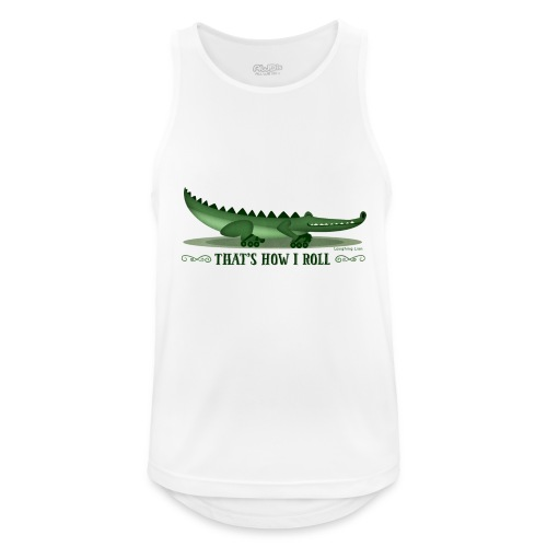 That s How I Roll - Men's Breathable Tank Top
