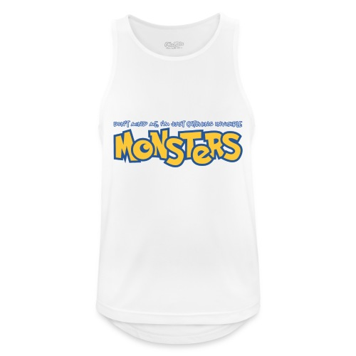 Monsters - Men's Breathable Tank Top