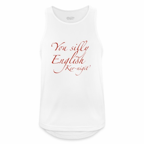 Silly English Ker-nigit by Jon Ball - Men's Breathable Tank Top