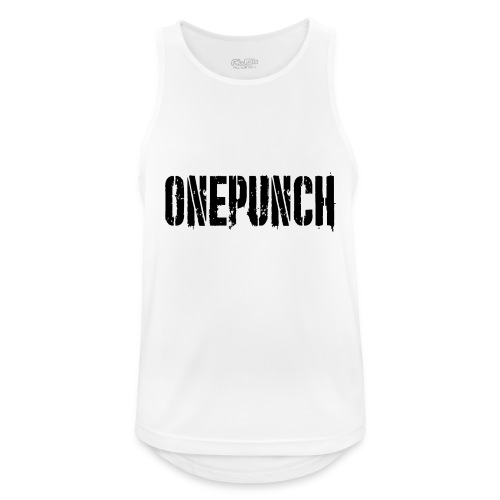 Boxing Boxing Martial Arts mma tshirt one punch - Men's Breathable Tank Top