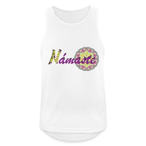 Namaste - Camiseta sin mangas hombre transpirable