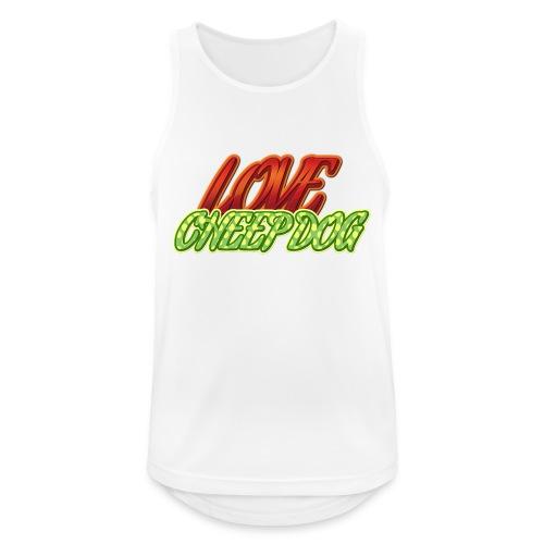 Love Cheep Dog - Männer Tank Top atmungsaktiv
