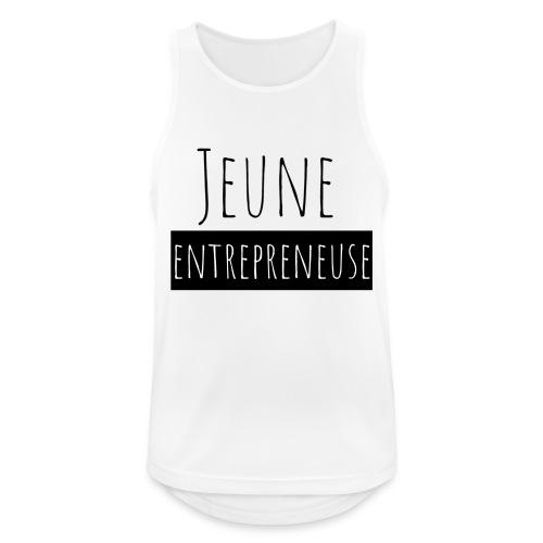 Jeune Entrepreneuse - Débardeur respirant Homme