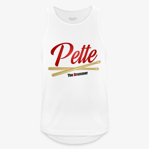 Pette the Drummer - Men's Breathable Tank Top