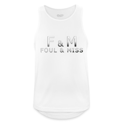 fmshirt snooker - Männer Tank Top atmungsaktiv
