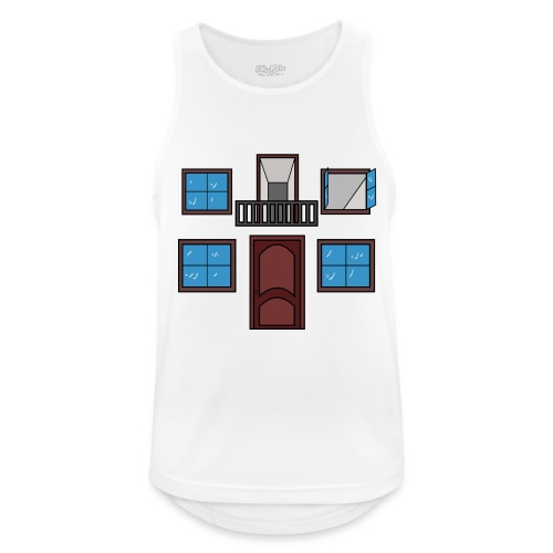 Window of the heart - Camiseta sin mangas hombre transpirable