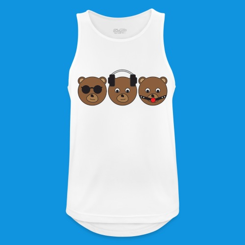 3 Wise Bears - Men's Breathable Tank Top