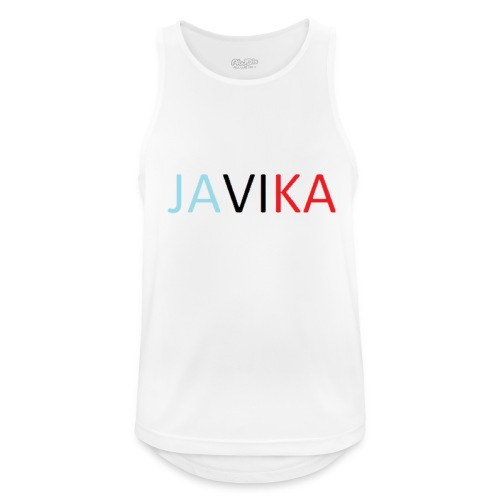 JAVIKA - Mannen tanktop ademend actief