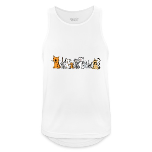 Cats & Cats - Mannen tanktop ademend actief