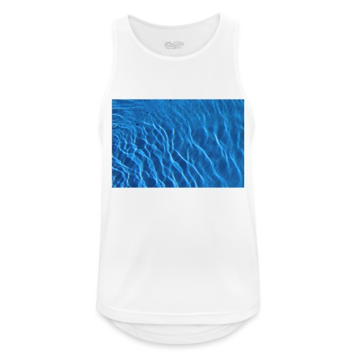 Water t shirt - Pustende singlet for menn