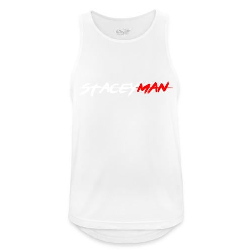 staceyman red design - Men's Breathable Tank Top